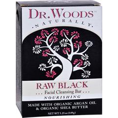 HGR1198837 - Dr. WoodsFace Cleansing Bar - Raw Black - 5.25 oz