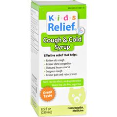 HGR1200112 - Homeolab USAKids Relief Cough and Cold Formula - 8.5 fl oz