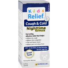 HGR1200120 - Homeolab USAKids Cough and Cold Nighttime Formula - 8.5 fl oz