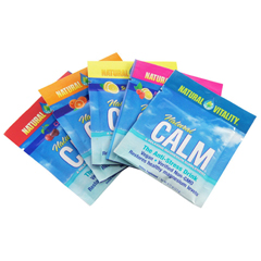 HGR1200757 - Natural VitalityCalm Counter Display - Assorted Flavors - Case of 8 - 5 Packs