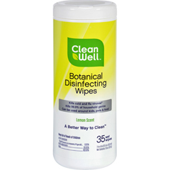 HGR1202209 - CleanWellDisinfecting Wipes - 35 count