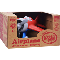 HGR1203231 - Green Toys - Airplane - Red