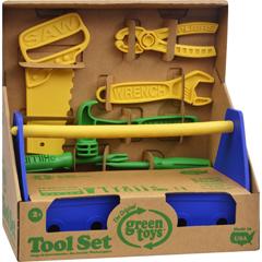 HGR1203835 - Green ToysTool Set - Blue