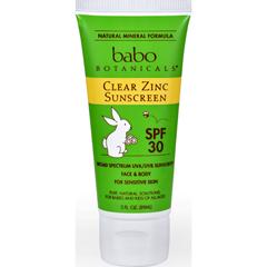HGR1205202 - Babo BotanicalsSunscreen - Clear Zinc - SPF 30 - 3 fl oz