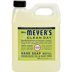 HGR1205350 - Mrs. Meyer'sLiquid Hand Soap Refill - Lemon Verbena - 33 lf oz - Case of 6