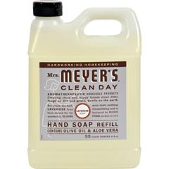 HGR1205368 - Mrs. Meyer'sLiquid Hand Soap Refill - Lavender - 33 lf oz - Case of 6