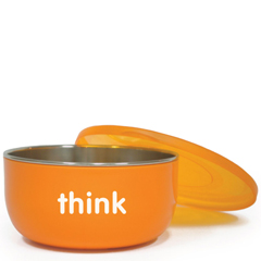 HGR1205392 - ThinkbabyBPA Free Cereal Bowl - Orange - Count
