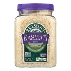 HGR1206697 - Rice Select - Kasmati Rice - Case of 4 - 32 oz.