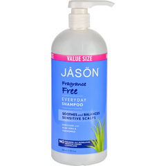 HGR1208131 - Jason Natural ProductsShampoo for Sensitive Scalp - Fragrance Free - 32 oz