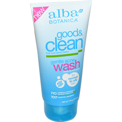 HGR1208297 - Alba BotanicaGood and Clean Gentle Acne Wash - 6 oz