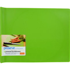 HGR1210319 - PreserveLarge Cutting Board - Green - 14 in x 11 in