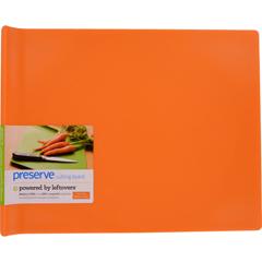 HGR1211770 - PreserveLarge Cutting Board - Orange - 14 in x 11 in
