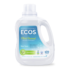 HGR1212844 - Earth Friendly Products - Ecos Ultra 2x All Natural Laundry Detergent - Lemongrass - 100 fl oz