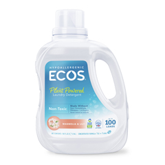 HGR1213065 - Earth Friendly Products - Ecos Ultra 2x All Natural Laundry Detergent - Magnolia and Lily - 100 oz