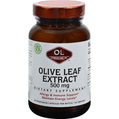 HGR1214337 - Olympian LabsOlive Leaf Extract - 500 mg - 60 capsules