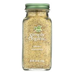 HGR1214964 - Simply Organic - Adobo Seasoning - Case of 6 - 4.41 oz..