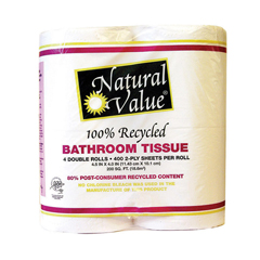 HGR1215730 - Natural Value - Recycled Bathroom Tissue - Case of 12