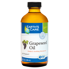 HGR1216241 - Earth's Care100% Pure Grapeseed Oil - 8 fl oz