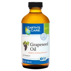 HGR1216241 - Earth's Care - 100% Pure Grapeseed Oil - 8 fl oz