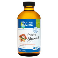 HGR1216258 - Earth's Care100% Pure Sweet Almond Oil - 8 fl oz