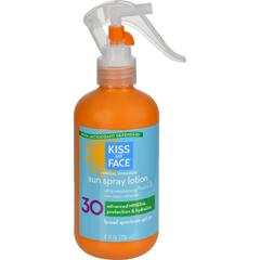HGR1222637 - Kiss My FaceSun Spray Lotion - SPF30 - 8 fl oz
