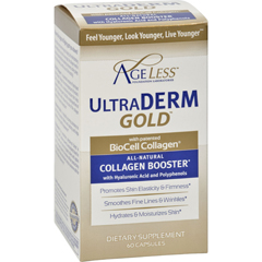 HGR1223320 - Ageless FoundationUltraderm Gold Collagen Booster - 60 capsules