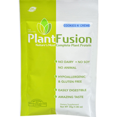 HGR1223924 - PlantfusionCookies N Cream Packets - Case of 12 - 30 Grams