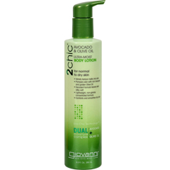 HGR1226992 - Giovanni Hair Care Products - 2chic Body Lotion - Ultra-Moist Avocado and Olive - 8.5 fl oz