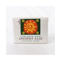 HGR1228683 - Zion HealthClay Bar Soap - Golden Sun - 10.5 oz
