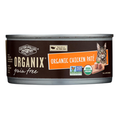 HGR1229137 - Castor and Pollux - Organic Cat Food - Chicken Pate - Case of 24 - 5.5 oz..