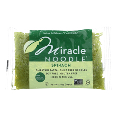 HGR1231109 - Miracle Noodle - Shirataki Spinach - 7 oz - case of 6