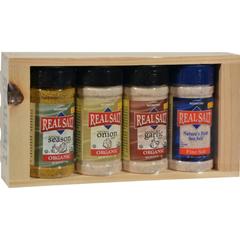 HGR1234244 - Real SaltSeasoning Gift Set - 4 Piece Set