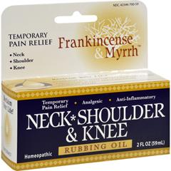 HGR1234293 - Frankincense and MyrrhNeck, Shoulder, and Knee Oil - 2 fl oz