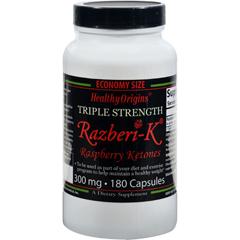 HGR1234483 - Healthy OriginsRaspberry Ketones - 300 mg - 180 Ct