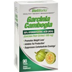 HGR1234517 - Diet WorksGarcinia Cambogia - 90 Ct