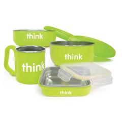 HGR1236850 - ThinkbabyFeeding Set - BPA Free - Green