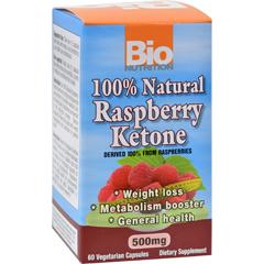 HGR1237387 - Bio NutritionRaspberry Keytones - 500 mg - 60 Ct