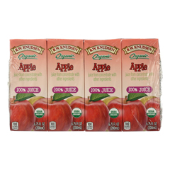 HGR1241371 - R.W. Knudsen - Organic Juice - Apple - Case of 7 - 6.75 Fl oz..