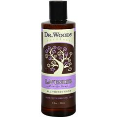 HGR1242551 - Dr. WoodsNaturals Castile Liquid Soap - Lavender - 8 fl oz