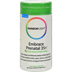 HGR1243377 - Rainbow LightPrenatal 35+ Multivitamin - 90 caps