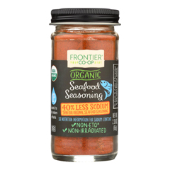 HGR1244524 - Frontier Herb - Seafood Seasoning - Organic - Reduced Sodium - 2.3 oz.