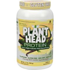 HGR1251859 - Genceutic NaturalsPlant Head Protein - Vanilla - 1.65 lb