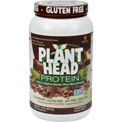 HGR1251925 - Genceutic NaturalsPlant Head Protein - Chocolate - 1.7 lb
