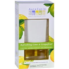 HGR1252303 - Aura CaciaElectric Air Freshener - Lime and Grape - 3 Pack