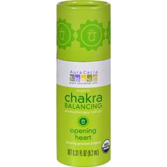 HGR1253467 - Aura CaciaOrganic Chakra Balancing Aromatherapy Roll-on - Opening Heart - .31 oz