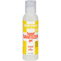 HGR1255413 - EO ProductsHand Sanitizer Gel - Everyone - Cocnt Lmn - Dsp - 2 oz - 1 Case