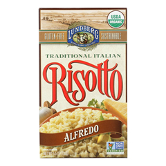 HGR1255595 - Lundberg Family Farms - Risotto Alfredo - Parmesan Cheese - Case of 6 - 5.5 oz.