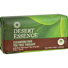 HGR1257906 - Desert EssenceBar Soap - Tea Tree Therapy - 5 oz