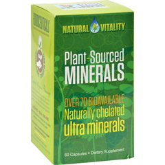 HGR1261759 - Natural VitalityPlant Sourced Minerals - 60 Vegan Capsules