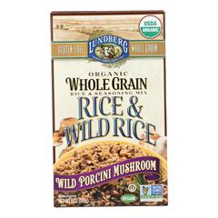 HGR1262864 - Lundberg Family Farms - Whole Grain Rice and Wild Rice - Case of 6 - 6 oz.